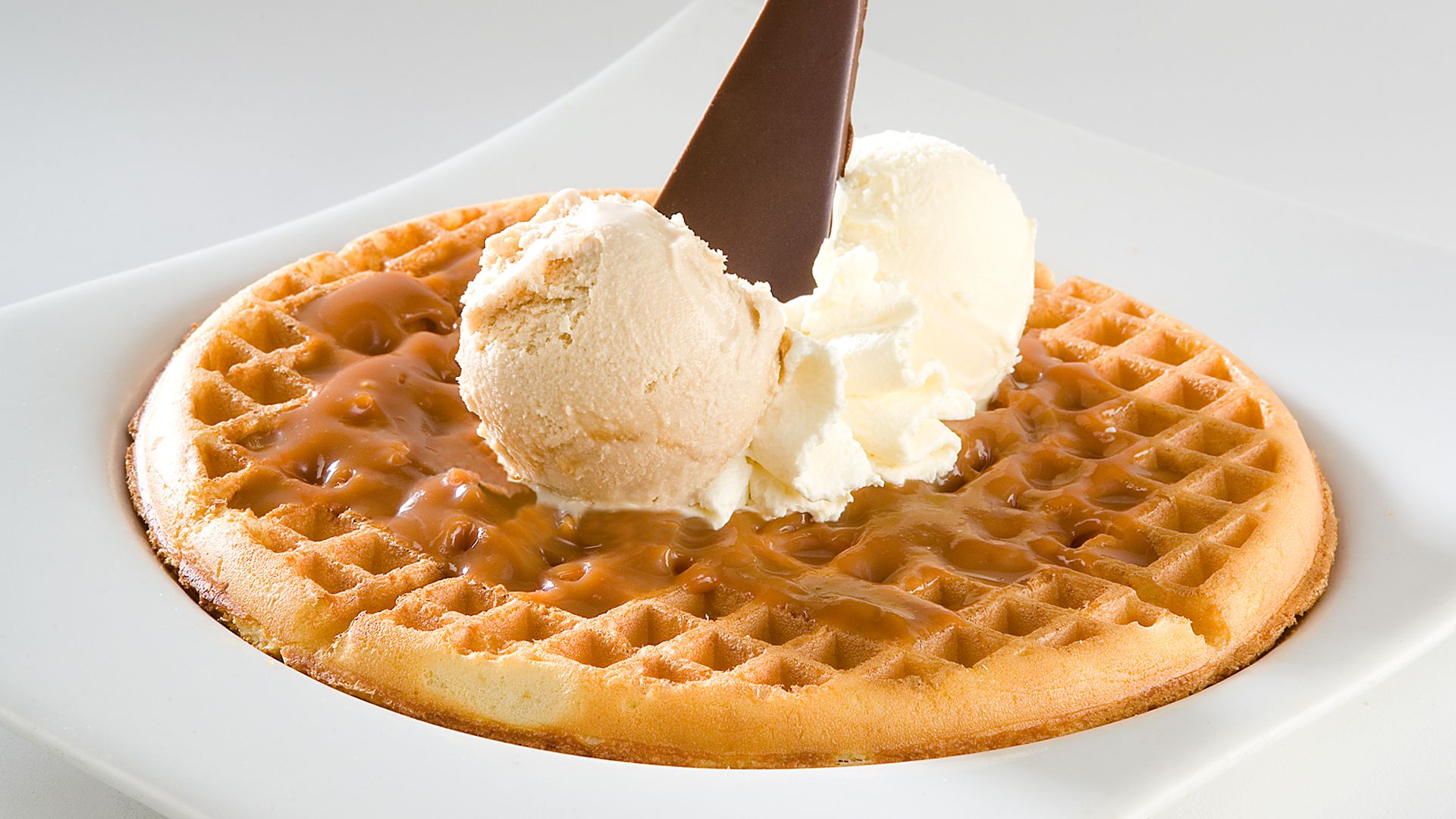 Waffle de Arequipe - Crepes&Waffles