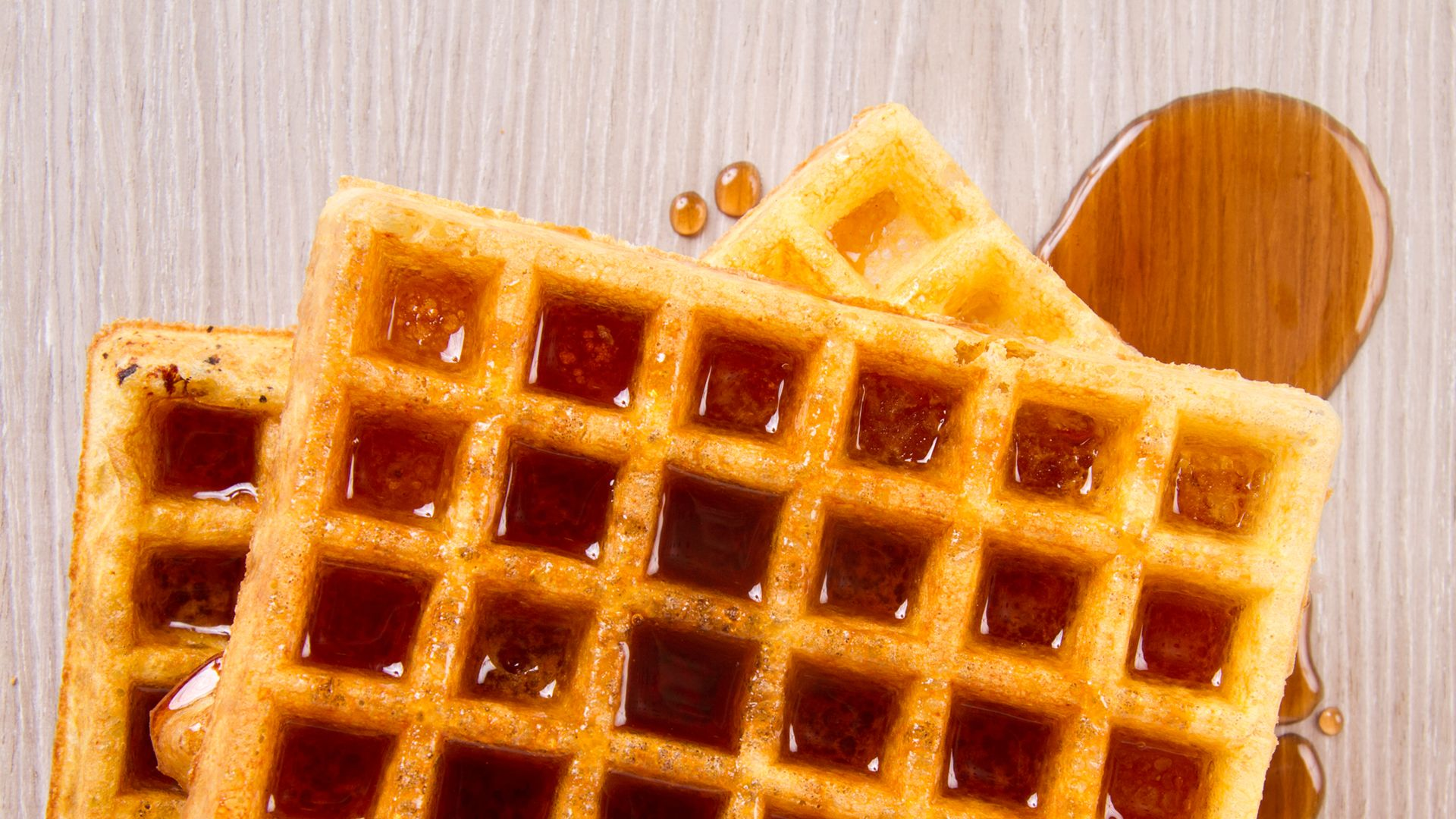 Gofre Mantequilla y Syrup - Crepes&Waffles